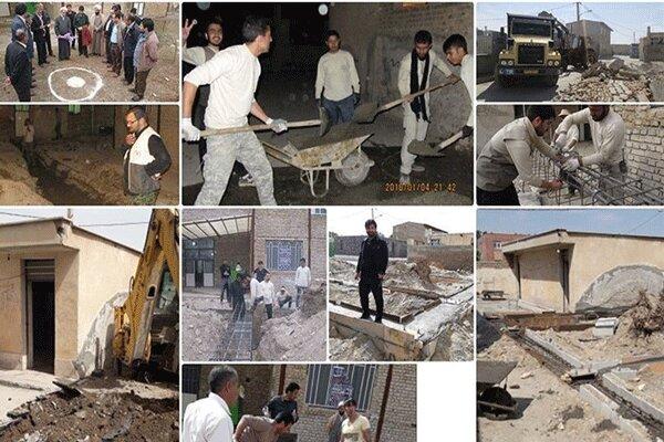 سازماندهی ۷۰۰ گروه جهادی البرزی در طرح «رسم هجرت»