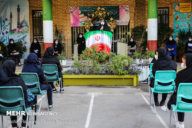 Atmosphere of schools during corona days