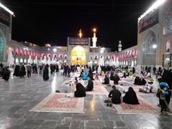 چهارشنبه ها روز زیارتی حضرت رضا (ع)