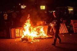 بازداشت دهها معترض در صدمین روز تظاهرات مردم پورتلند آمریکا