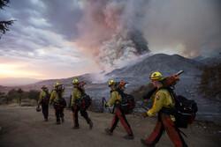 California'daki orman yangınlarının bıraktığı hasardan görüntüler