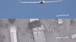 اهداف عسكرية سعودية في مطار أبها تحت مرمی السلاح الجو الیمني المسیر