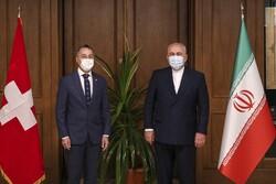 دیدار وزیران خارجه ایران و سوئیس