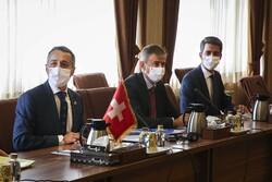 Swiss FM hails 'good exchange' of views during Tehran visit