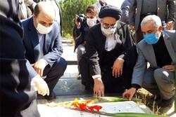 مزار شهدای ۱۷ شهریور در بهشت زهرا(س) گلباران شد