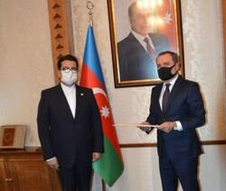 «موسوی» رونوشت استوارنامه خود را تقدیم وزیر خارجه آذربایجان کرد