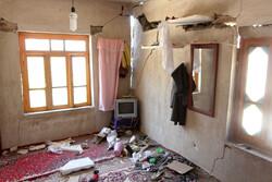Damages of 5.1-Richter quake in Golestan province