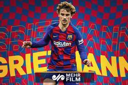 گل گریزمان به ویارئال، بهترین گل فصل بارسلونا انتخاب شد