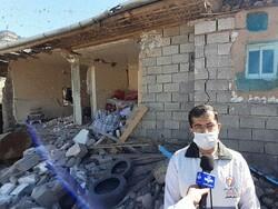 خسارت زلزله به ۱۹۵ واحد مسکونی در رامیان/ ۱۲۴ واحد نیازمند احداث مجدد