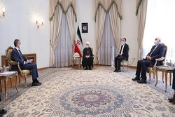 Rouhani emphasizes more activation of Swiss financial channel