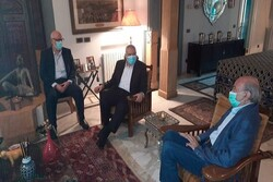 دیدار رئیس دفتر سیاسی حماس با ولید جنبلاط