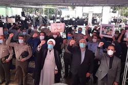 مردم تهران اهانت به پیامبر اکرم(ص) و قران را محکوم کردند