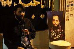 حسینیه سیار هیئت ثارالله رشت به منزل شهید «مقدم» رسید