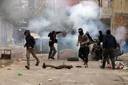 إشتباك عنيف بين فلسطينيين ومستوطنين صهاينة أسفر عن إصابة ثلاثة محتلين