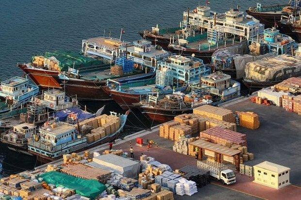 Iran sends 8th non-oil cargo to Oman via Sirik