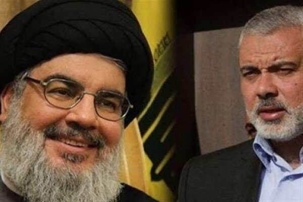 Haniyeh-Nasrallah meeting aimed at confronting Zionist plans