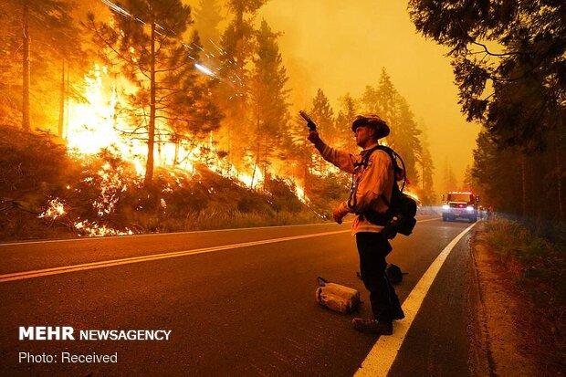 ABD'de yangın felaketi büyüyor!