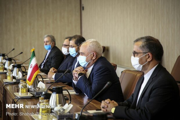Meeting of Iran and Swiss Foreign Ministers