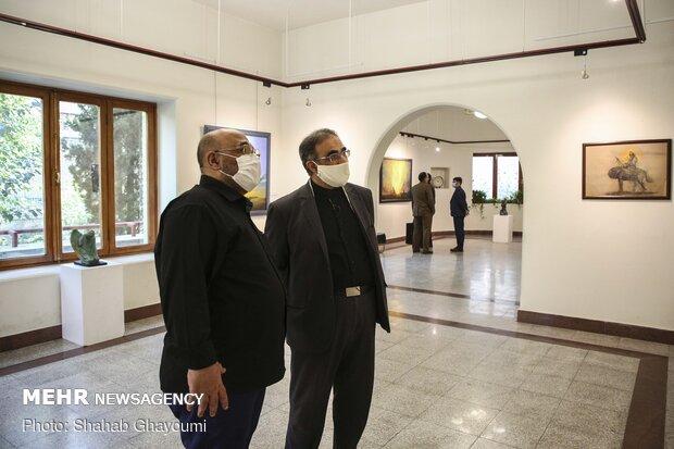 عبدالحمید قدیریان در نمایشگاه نقاشی «همپای نور»