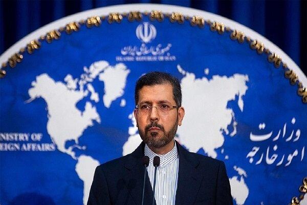 المتحدث باسم الخارجية يفند المزاعم السعودية الاخيرة المناوئة لايران