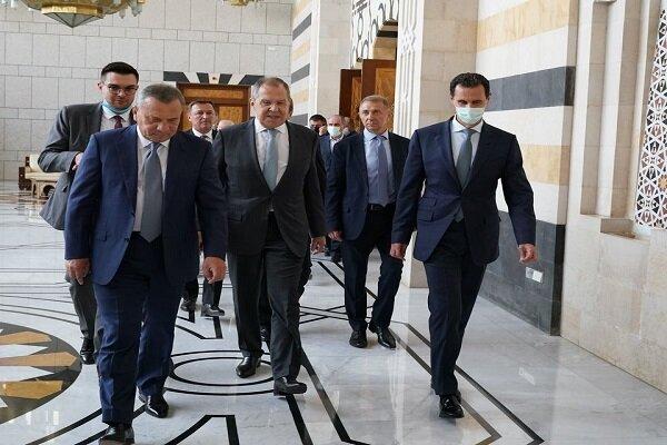 بشار الأسد يستقبل الوفد الروسي برئاسة يوري بوريسوف
