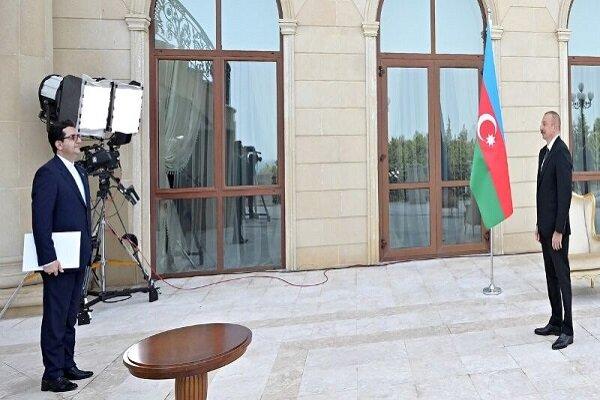 الرئيس الاذربيجاني : العلاقات الإيرانية الأذربيجانية آخذة بالتوسع