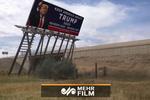 VIDEO: Trump's campaign billboard pulled down