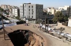 گود پرخطر رها شده در محدوده شمال شرق تهران رفع خطر شده است