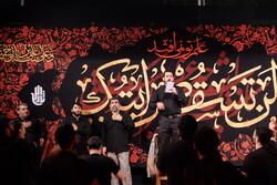 Reşt kentindeki Muharrem merasiminden fotoğraflar