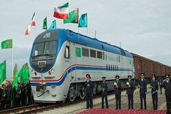 Iran-Turkmenistan-Kazakhstan railway symbol of friendship