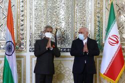 Iranian, Indian FMs hold meeting in Tehran