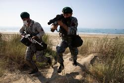 عملیات هجومی آبخاکی تکاوران و تفنگداران دریایی در سواحل مکران