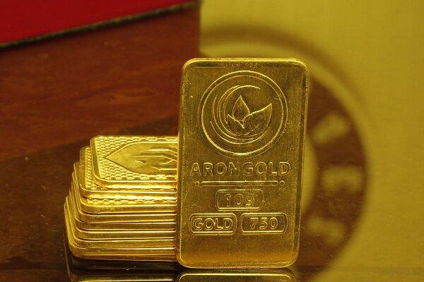 تولید انبوه شمشهای ۱۰ گرمی طلای آرون