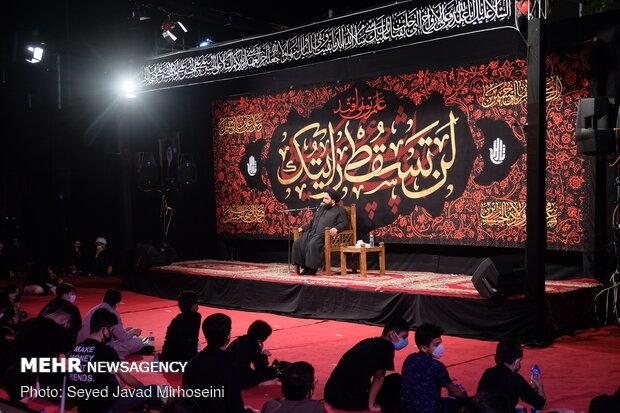احياء النصف من شهر محرم في مدينة رشت / صور