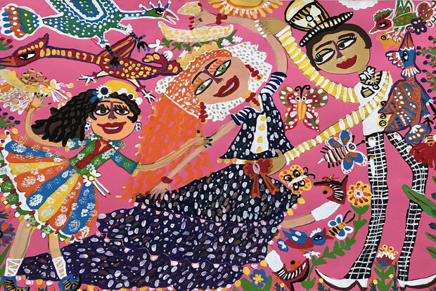 Iranian children shine in Bulgarian painting competition