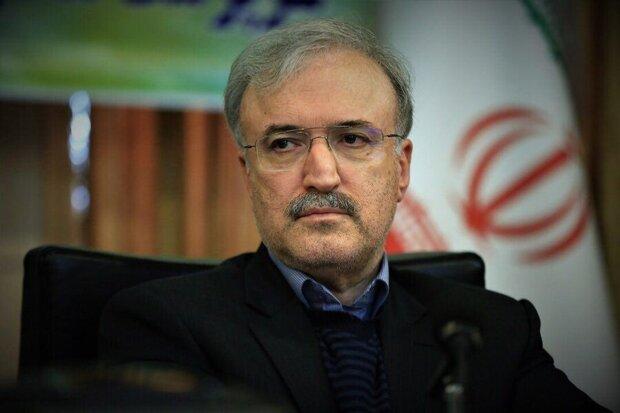 وزير الصحة الإيراني يعرب عن شكره لتوفير خدمات الطوارئ الجوية