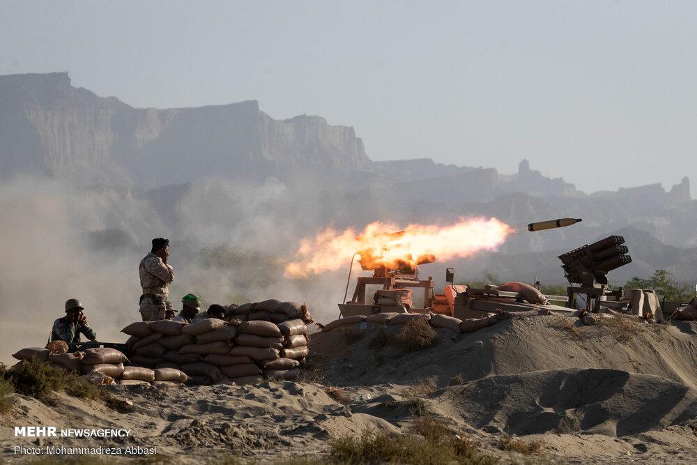 عملیات تاخت آبخاکی تکاوران ارتش در رزمایش ذوالفقار ۹۹