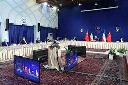 ايران وتركيا يؤكدان على تعزيز التعاون الاقليمي والدولي بينهما