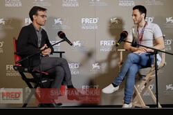 شهرام مکری در ونیز: سینما به دید ما نسبت به تاریخ شکل میدهد