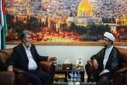 دیدار الوفاق بحرین با مسئولانجنبش جهاد اسلامی