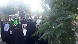 """Fransa'nın Tahran Büyükelçiliği önünde """"Charlie Hebdo"""" protestosu"""