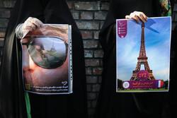 دولت فرانسه نشان داد با تمام ادیان الهی مخالف است