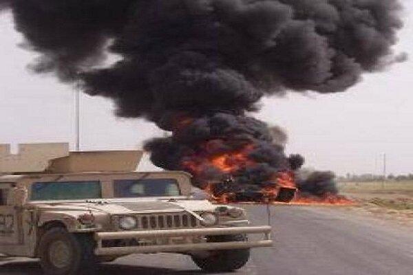 انفجار يستهدف رتل دعم لوجستي للتحالف الأمريكي جنوب العراق