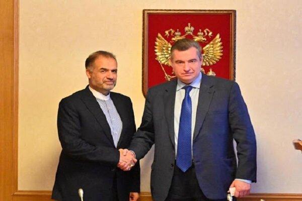 Iran, Russia discuss bilateral ties, regional issues