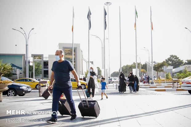Mehrabad Havalimanı'nda koronavirüs önlemleri