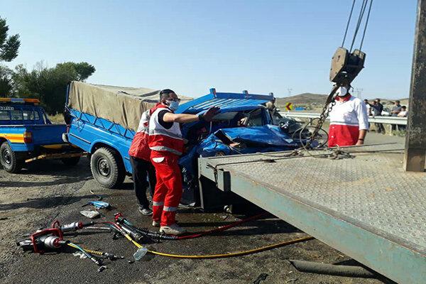 کشتههای تصادفات جادهای تهران 10 درصد کاهش یافت