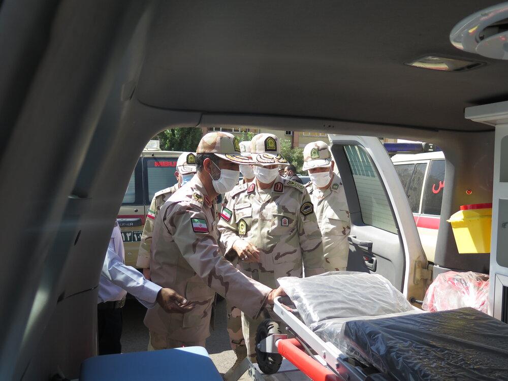 اختصاص ۲۶ دستگاه آمبولانس پیشرفته به یگانهای مرزی
