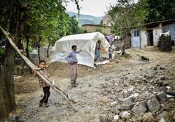 اهالی «قورچای» دل نگران سوز زمستان/ روند بازسازی شتاب می گیرد