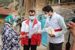 گندزدایی روزانه کمپ زلزله زدگان رامیان/تیم حمایت روانی مستقر شد