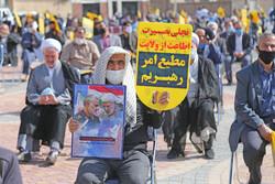 اردبیل میں فرانسیسی میگزین چارلی ہیبڈو کے خلاف احتجاجی مظاہرہ
